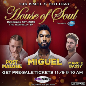 KMEL House of Soul 2015 - Miguel